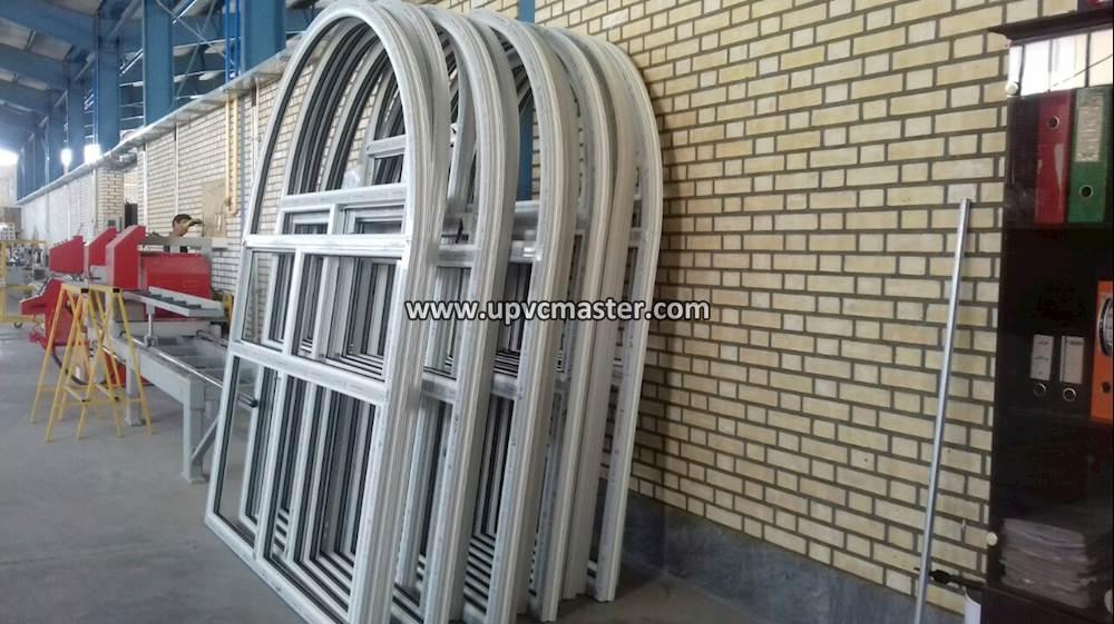 ساخت پنجره خم دوجداره