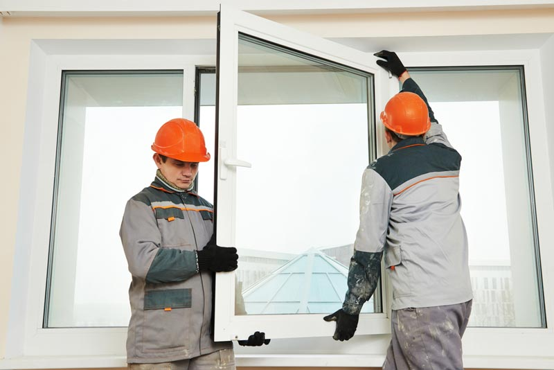 نصب پنجره دوجداره UPVC