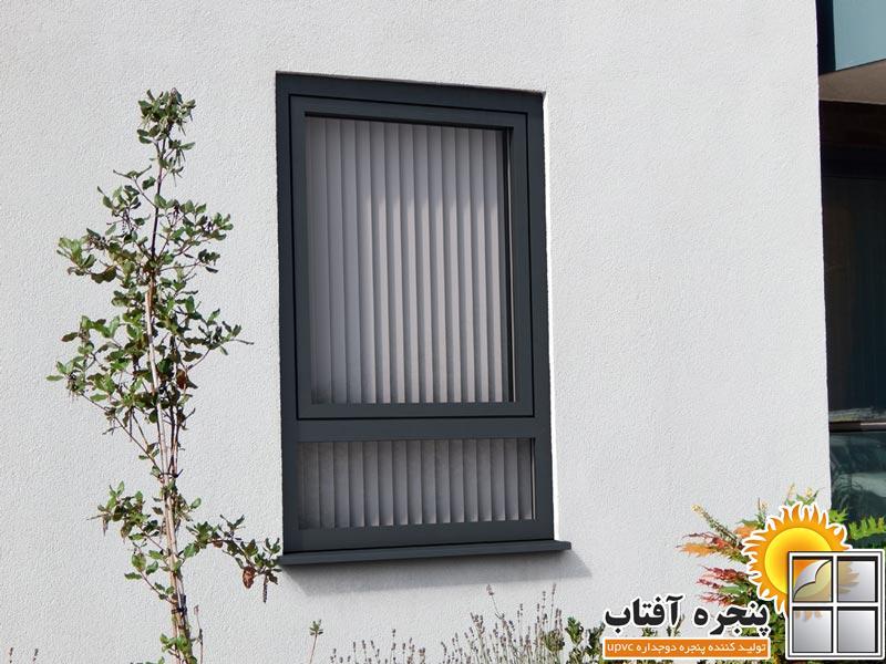 پنجره-رنگی-دوجداره-UPVC