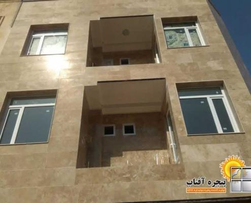 پروژه انجام شده پنجره دوجداره UPVC در ماهدشت کرج