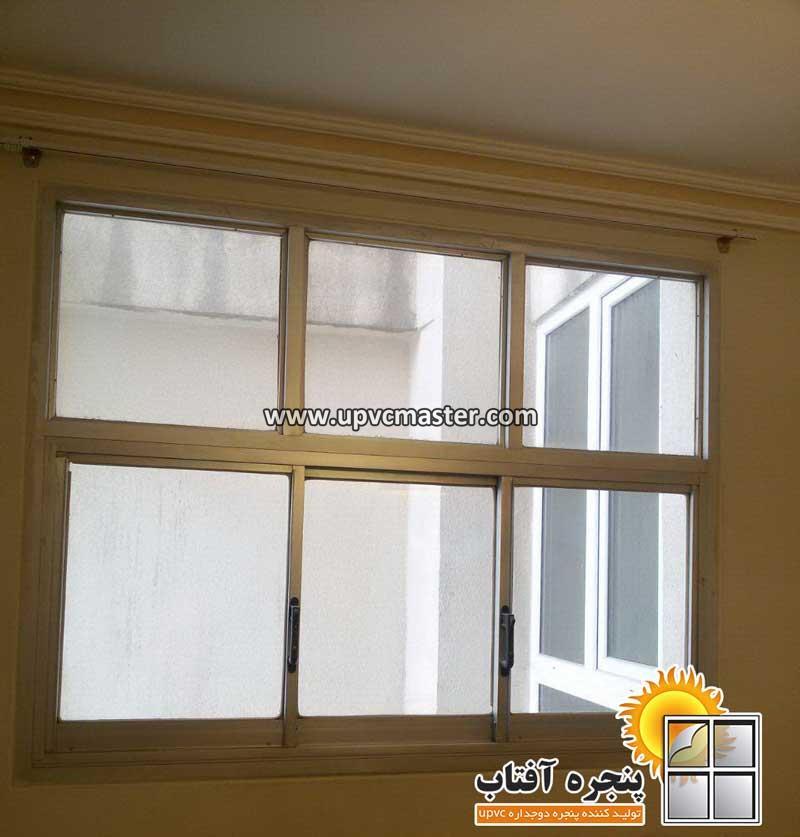پنجره آلومینیوم قدیمی قبل از تعویض