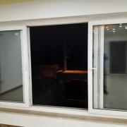 پنجره دوجداره UPVC ریلی کشویی