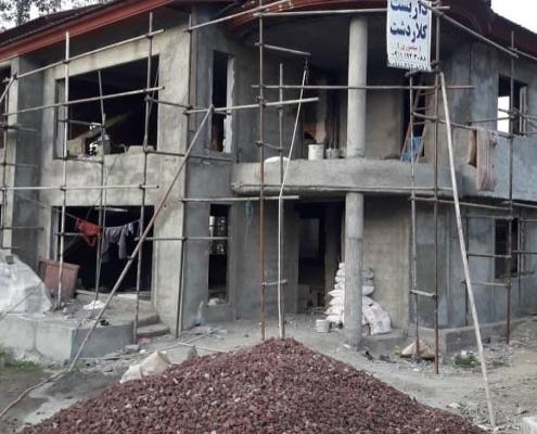 پروژه انجام شده پنجره دوجداره در گلستان
