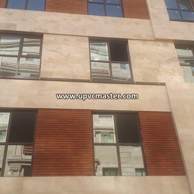 پنجره upvc لمینت، سعادت آباد