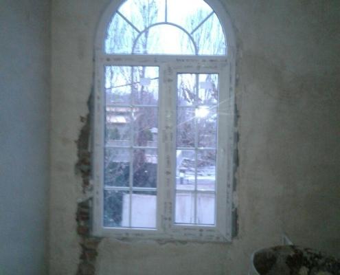 میله های دکوراتیو پنجره دوجداره UPVC