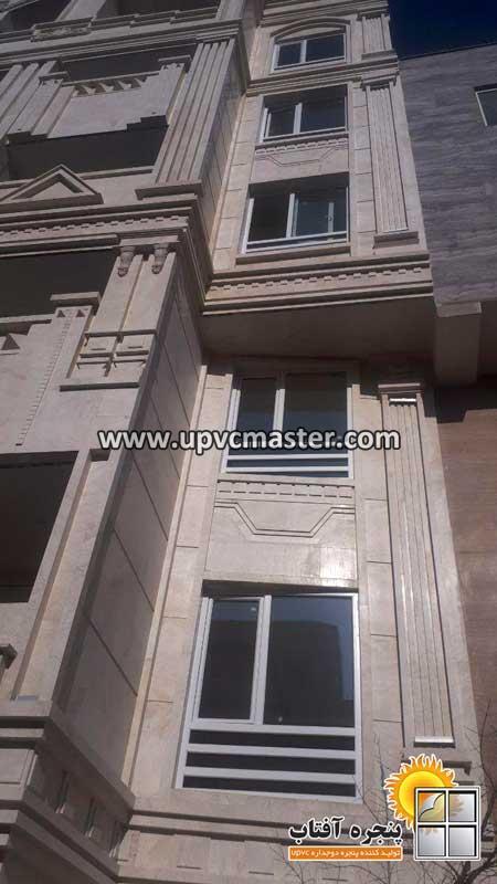 پنجره دوجداره UPVC در تهران