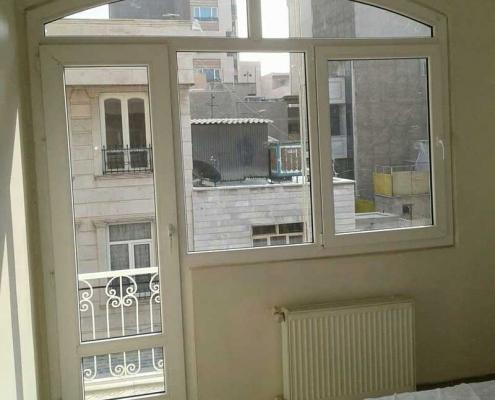 تعویض پنجره هلال چند ضلعی