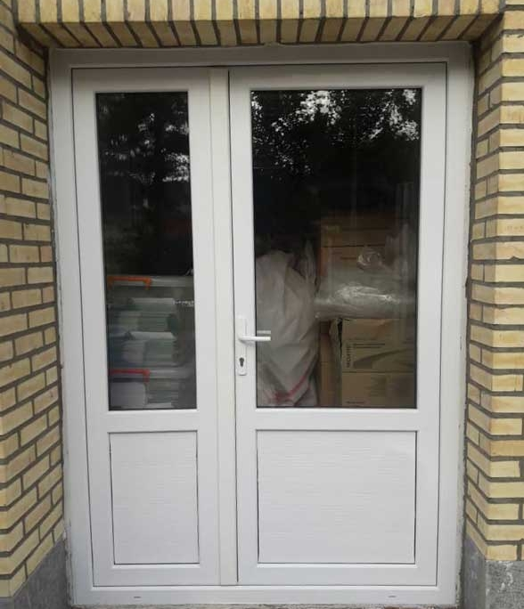 درب و پنجره فرانسوی دوجداره UPVC