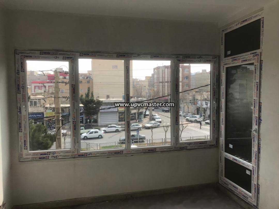 پنجره دوجداره وین تک