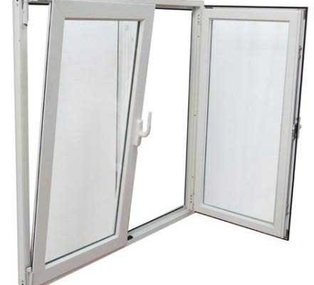 پنجره با یراق دو حالته
